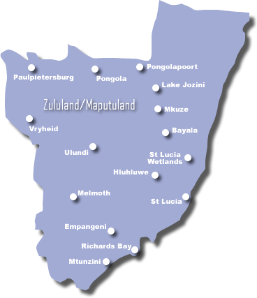 Conference Facilities in the Zululand & Maputuland Region of the KwaZulu-Natal Province of South Africa